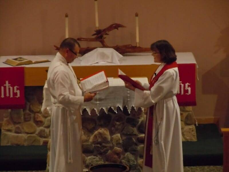 Installation of Bill Wendorf, LLM at Shepherd of the Lakes, Sayner – January 22, 2017