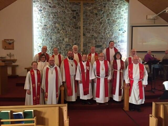 Installation / Ordination of Pastor Christina Forsythe – March 19, 2017 at Porterfield, WI